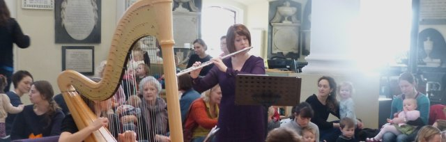 BATH - Topaz flute and harp duo