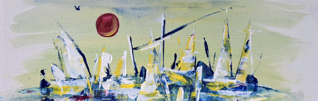 """Let's Paint """"Dreaming of Saint Tropez"""" - Online"""