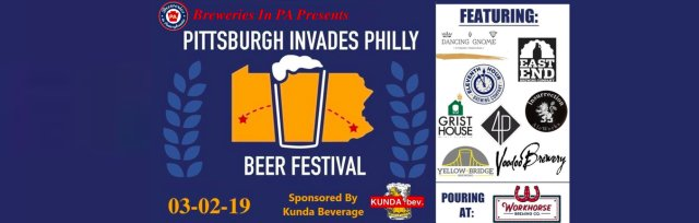 Pittsburgh Invades Philly Beer Fest [SOLD OUT]