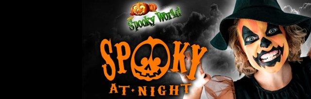 SPOOKY-at-Night Sat 3 Nov