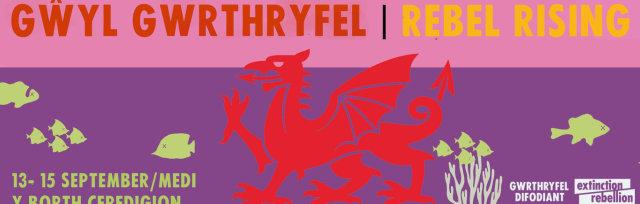 Gŵyl Gwrthryfel XR Rebel Rising