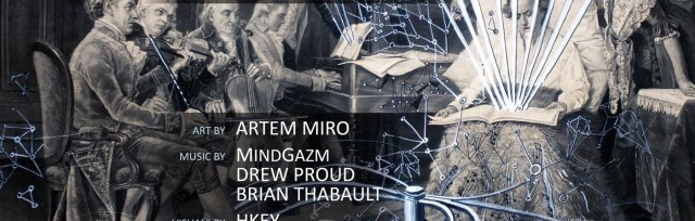 Augmented Reality Art & Music Show with MindGazm + Drew Proud + Brian Thabault