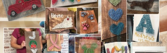 String Art at Easely Created (Ages 14 and up)