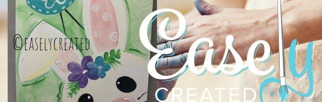 "Creative Kids Paint Class (Ages 6-14) ""Spring Friends"" 12x16 Canvas"