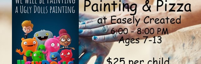 "Kids Night Out: Painting & Pizza ""Ugly Dolls Painting"""