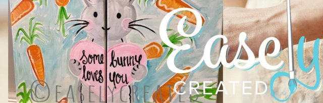 "Mom & Me Paint Class ""Some Bunny Loves You"" Ages 6+"