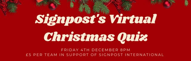 Signpost's Virtual Christmas Quiz 2020!