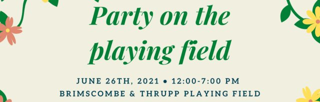 Party on the Playing Field