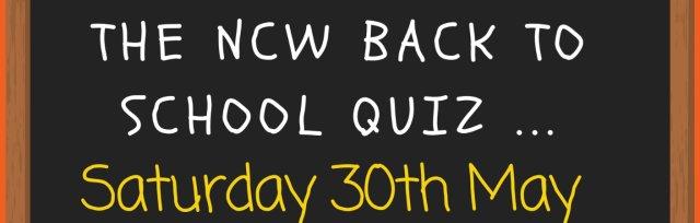 The NCW Back To School Quiz!