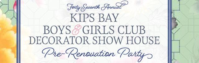 47th Annual Decorator Show House Pre-Renovation Celebration