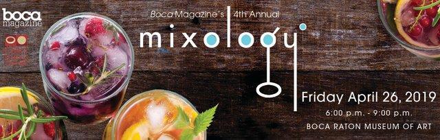 4rd Annual Mixology Boca - 2019