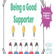 How to be a good supporter - Ages 10-15,  10th July 2:30-3:30pm, Online Course for young people in Moray image
