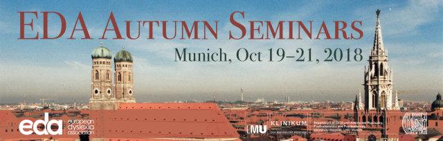 EDA Autumn Seminars 2018