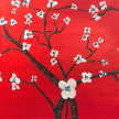 Paint & Sip! Almond Branches at 7:30pm  $35 UPLAND image