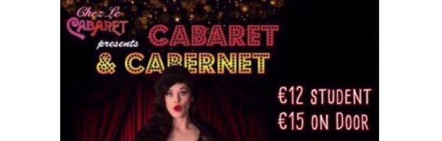 Chez le Cabaret // in aid of Pieta House // 31 August // 20:00