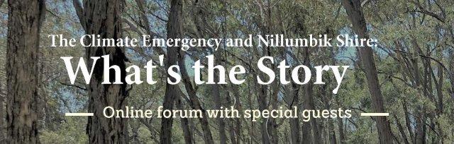 Nillumbik Climate Emergency Action Team Climate Forum
