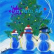 Fun Art Night: Night Before Christmas in Orange image