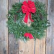Wine, Food and Evergreen Wreath Workshop image