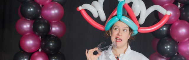 DO Try This at Home Online!  More Fun Science with Becky Kitter from Balloonatic!