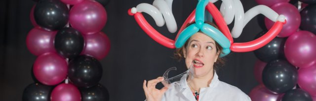 DO Try This at Home Online! Fun Science with Becky Kitter from Balloonatic!