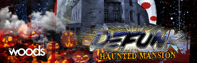 Defunk's Haunted Mansion Halloween Extravaganza