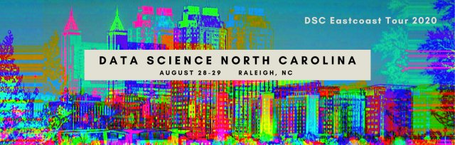Data Science North Carolina Conference 2020