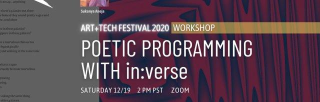 Workshop: Poetic Programming with in:verse
