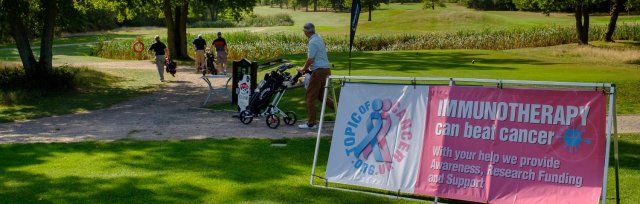 An afternoon of golf with Topic of Cancer Friday 21st May at Chiddingfold Golf Club.