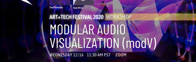 Workshop: Modular Audio Visualisation with modV