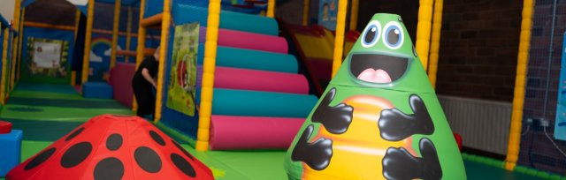 Monday Soft Play & Cafe 9:45am-11:45am (one ticket per attendee)