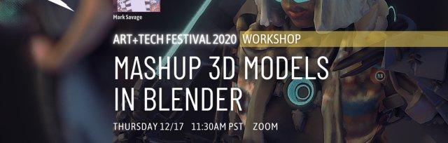 Workshop: Mashup 3d Models in Blender