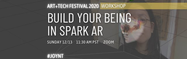 Workshop: Build Your Being in Spark AR
