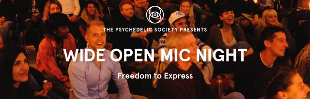 Wide Open Mic Night: Freedom to Express