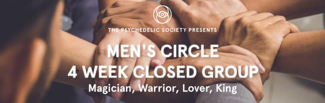 Men's Circle 4 Week Closed Group: Magician, Warrior, Lover, King