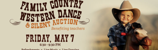 Family Country Western Dance & Silent Auction