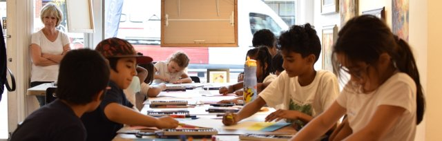 Wednesday Arts Classes ONLINE - Summer session - 10 to 14 year olds - Jun 3 to Aug 26