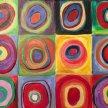 Paint & Sip! Kandinsky Circle Squares at 7pm $35 image