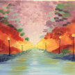 Paint & Sip! Riverwater at 7pm $35 image