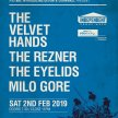 The Velvet Hands, The Rezner, The Eyelids & Milo Gore. Indie night for Independent Venue Week. image