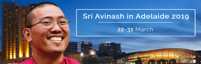 Events with Sri Avinash in Adelaide 2019