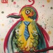 """Family Paint """"Bird With Tie"""" at 11am $22 image"""