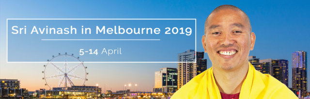 Events with Sri Avinash in Melbourne 2019