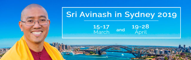 Events with Sri Avinash in Sydney 2019