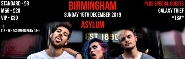 Bronnie live in Birmingham