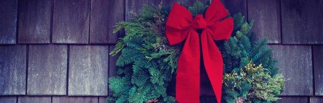 Wine, Food & Evergreen Wreath Workshop