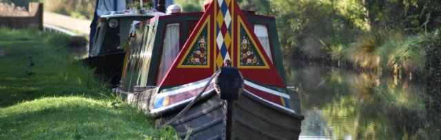 Canal Boat with Fish & Chips - May 7th 2020
