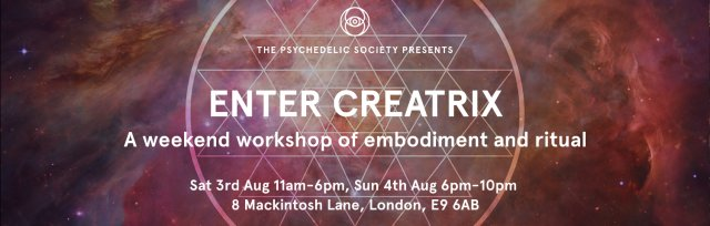 Enter Creatrix: A weekend workshop of embodiment and ritual
