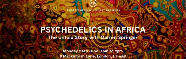 Psychedelics In Africa: The Untold Story with Darren Springer