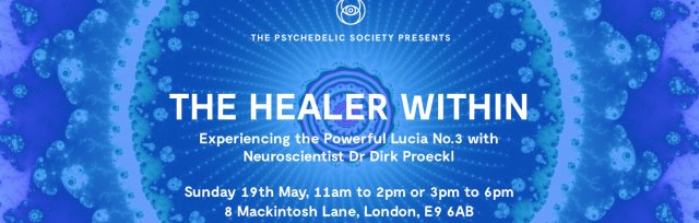 The Healer Within: Experience the Powerful Lucia No.3 Light, with Neuroscientist and Psychologist, Dr Dirk Proeckl