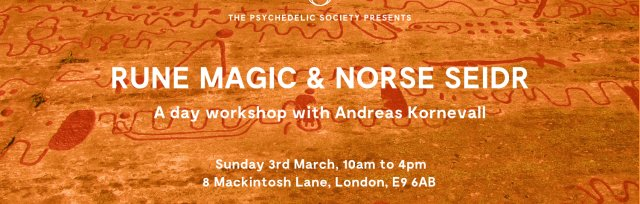 Rune Magic and Norse Seidr: A day workshop with Andreas Kornevall